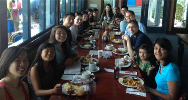 Sean Wu Lab Summer Lunch Picnic 7-20-2014