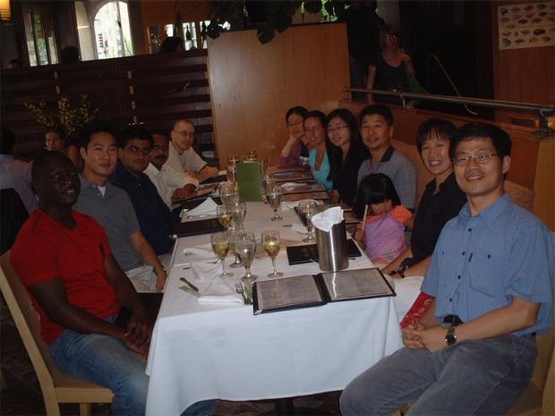 Wu Lab Lunch 2009