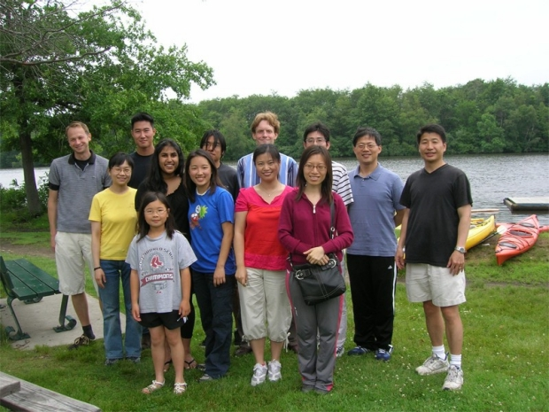 Wu Lab Summer Picnic 2008