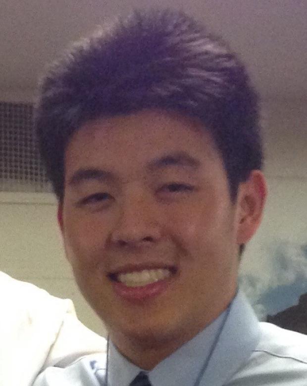 smiling headshot of Daniel Hu