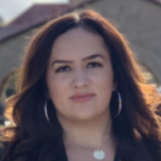 headshot of Nazan Puluca