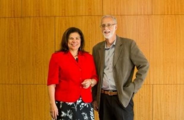 Portrait of Yvonne Maldonado and Mark Cullen