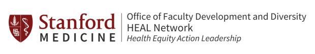 Stanford OFDD HEAL Network