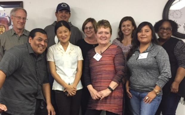 Group photo of the SPHERE BRAICELET team.