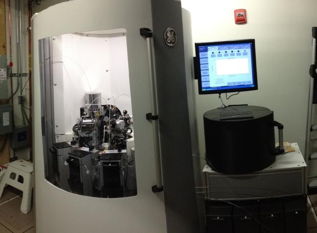 GE Spinlab dynamic nuclear polarizer arrives!