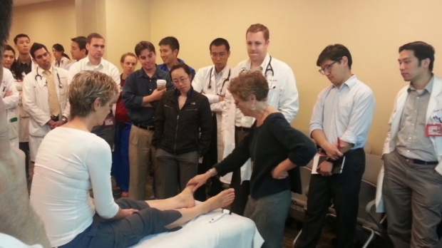Dr. Barry Teaches the Exam of the Foot and Ankle