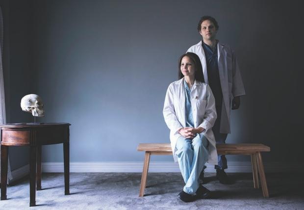 Neurosurgeons Teresa and Jamie Purzner