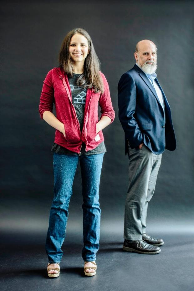 Teresa Purzner and Matthew Scott