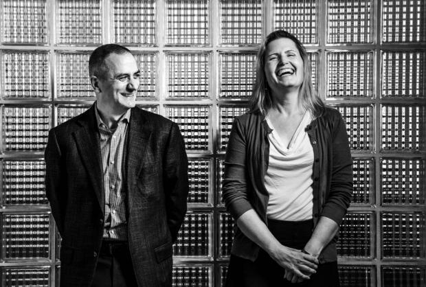 Antonio Hardan and Karen Parker photo, by Brian Smale