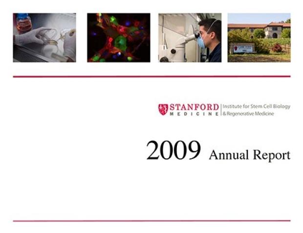 2009 Annual report cover