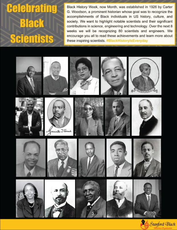 Celebrating Black Scientists Newsletter