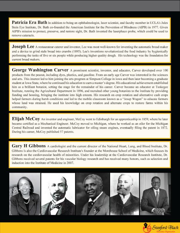 Celebrating black scientists newsletter 5