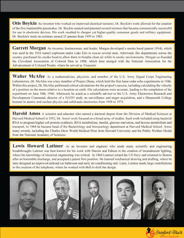 Celebrating black scientists newsletter 4