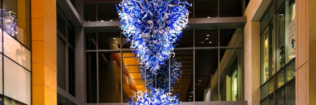 Image of Chihuly glass installation