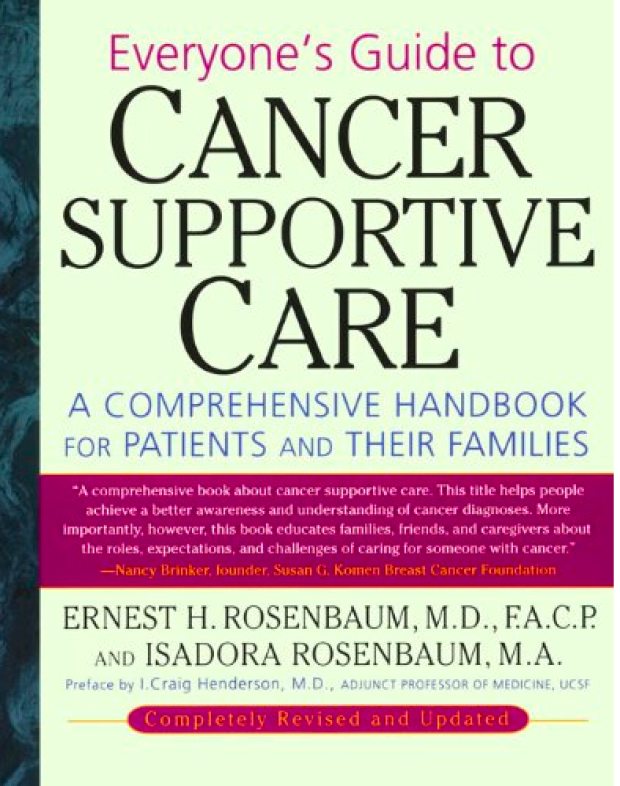 Everyones Guide to Cancer Supportive Care - Book Cover