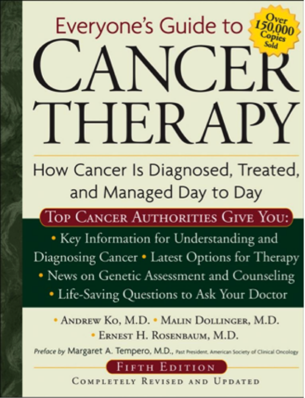 Everyone's Guide to Cancer Therapy - Book Cover