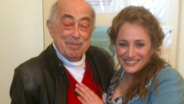 Ernie backstage at the SF Opera with a dear friend and lead performer.
