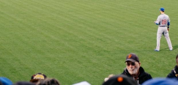 man at ball game