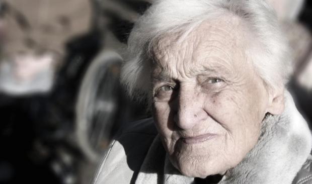 tough elderly female