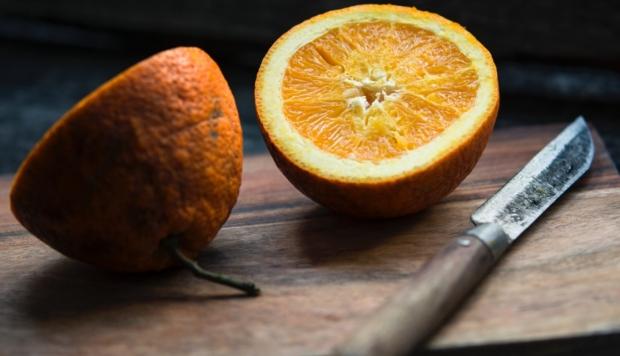 cut oranages