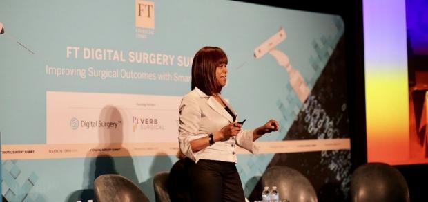 Carla Pugh at Digital Surgery Summit