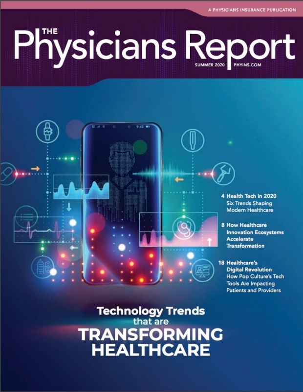 Dr. Pugh Featured in Summer 2020 Physicians Report Magazine