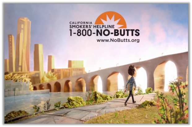 no butts