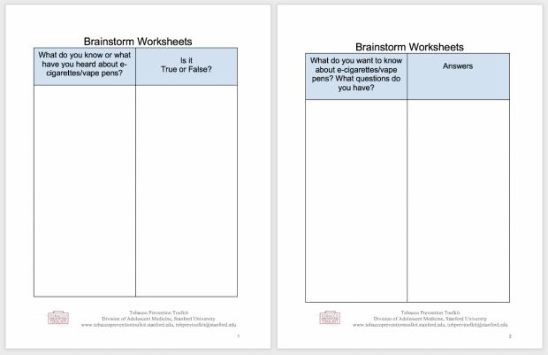 brainstorming-worksheet