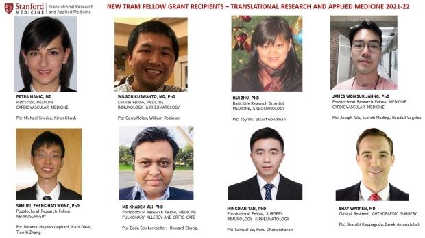 TRAM scholars 2021-22