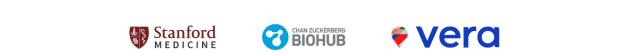Logos: Stanford Medicine, Chan Zuckerberg, Vera