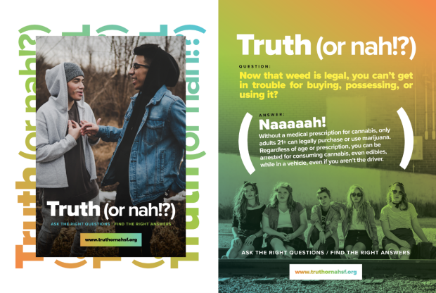 truth or nah poster