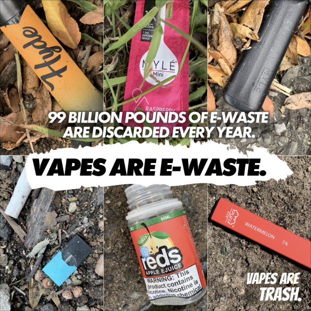 Vapes are E-waste