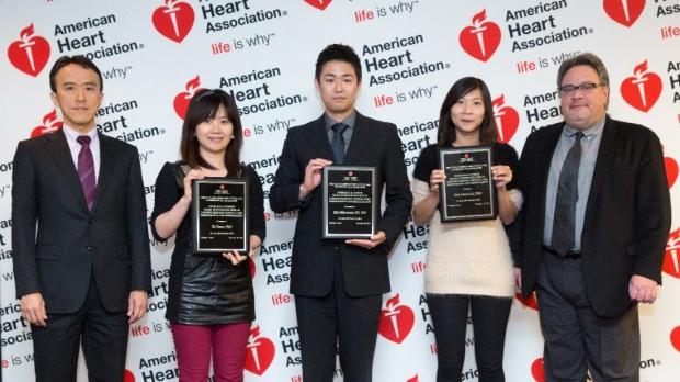 Ke Yuan award presentation
