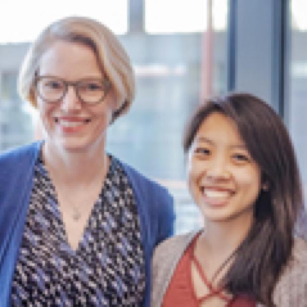 Alison Marsden, PhD and Melody Dong, PhD