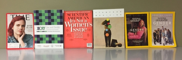 Magazines with Sex and Gender cover issues