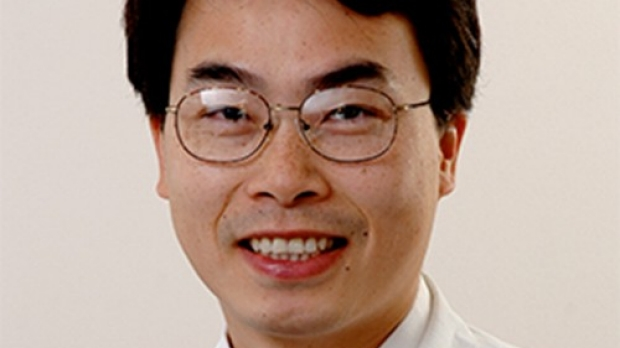 Smiling head shot of Joseph Wu