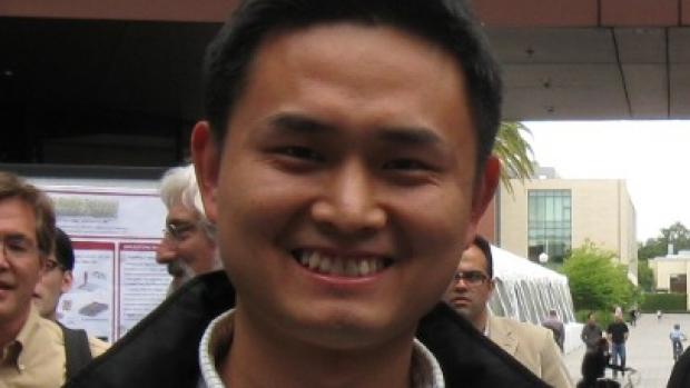 smiling headshot of Mingtao Zhao