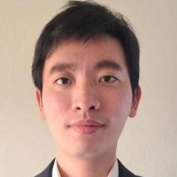 smiling headshot of Lei Tian