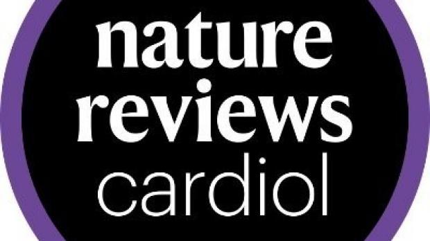 purple and black Nature Reviews Cardiol logo
