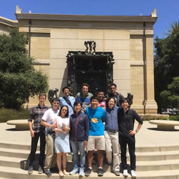 Peter Yang Lab Group, August 2016