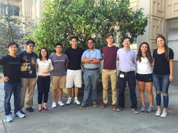 Peter Yang Lab Group, August 2015