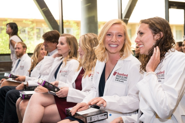 MSPA White Coat and Stethoscope Ceremony