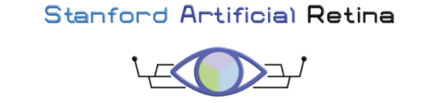 The main logo of the Stanford Artificial Retina Project.