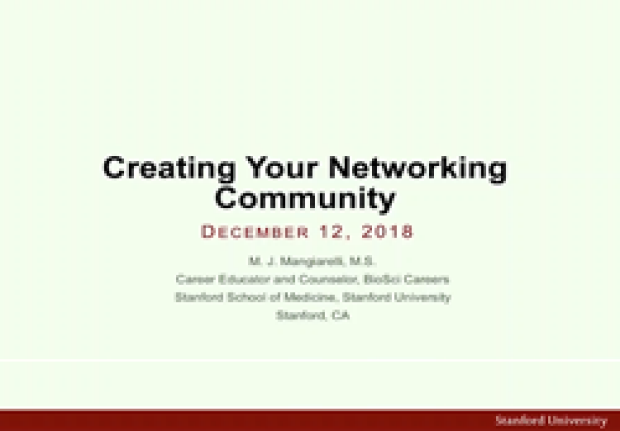 Creating Your Networking Community