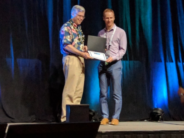 Hans Weber named 2017 ISMRM Junior Fellow