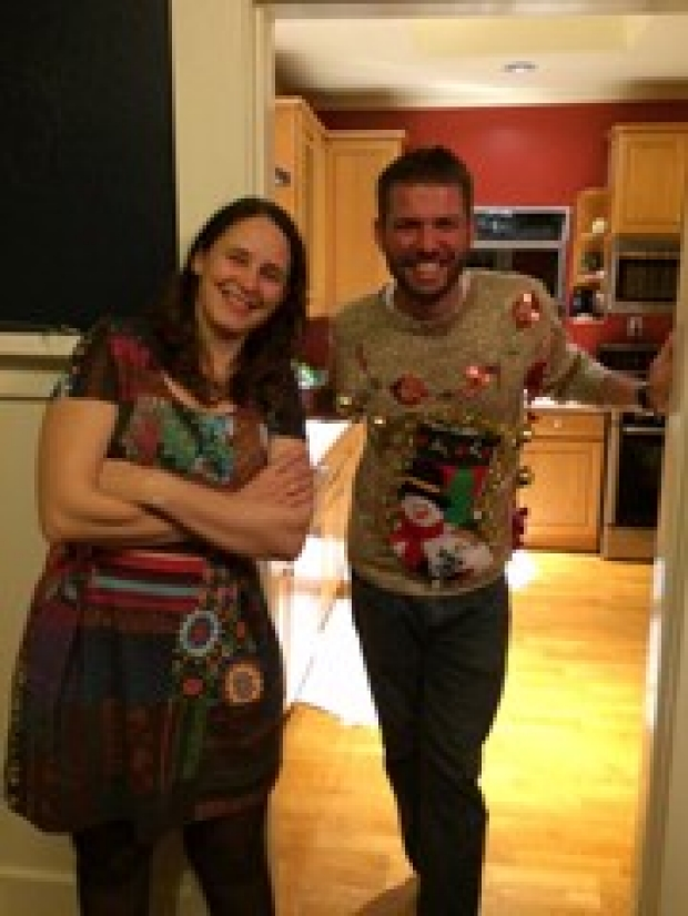 Buckwalter Lab Holiday Party 2014