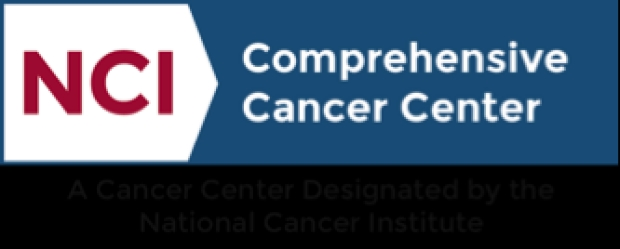 NCI logo: NCI-CC A Cancer Center Designated by the National Cancer Institute