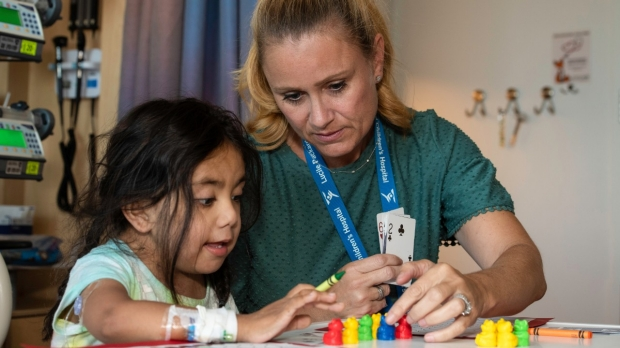 Packard Children's patients learn and make friends at hospital school