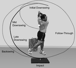 Study of golf swings pinpoints biomechanical differences