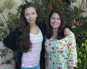 Taylor Simpson received a kidney from her mother
